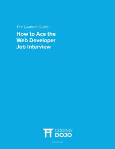 WebDevInterview